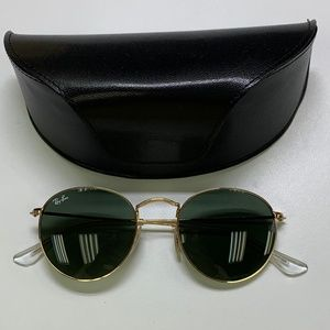 🕶️Ray-Ban RB3447 Round Sunglasses/917/VT522🕶️